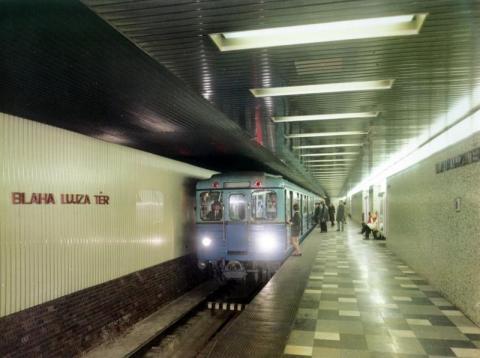 A metró Blaha Lujza téri állomása