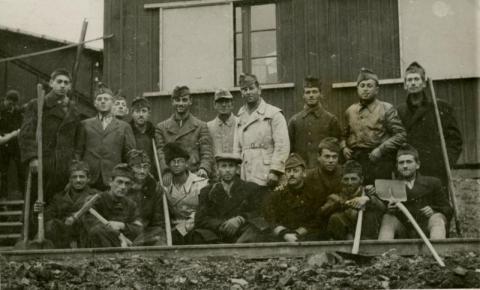 Szinérváraljai munkaszolgálatosok 1939-ben