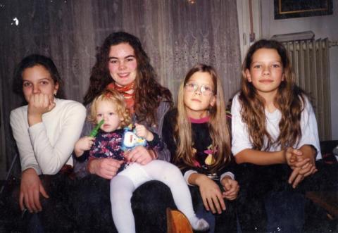 Nagy Bálint lányai