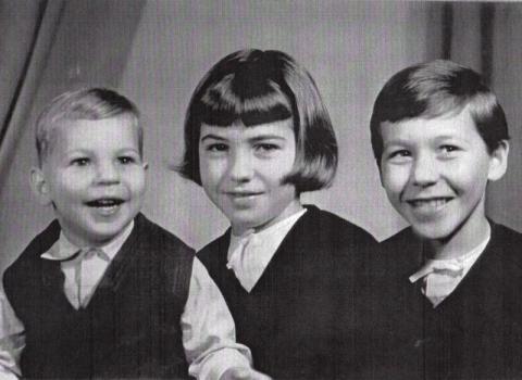 Ivánfi Jenő gyermekei, Ádám, Andrea és Mónika
