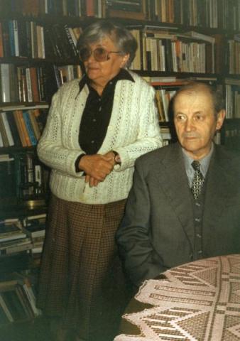 Tóth István és felesége