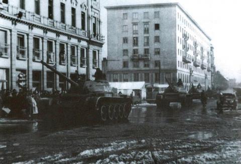 A szovjet megszállás Győrben