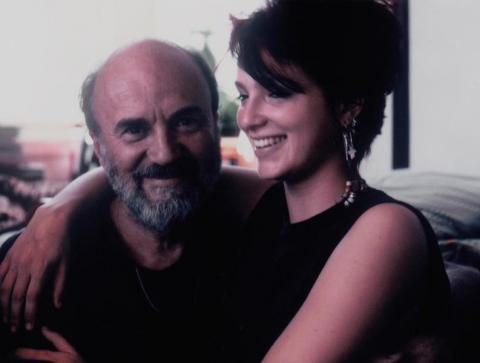Batár Attila és lánya, Miryame, 1984