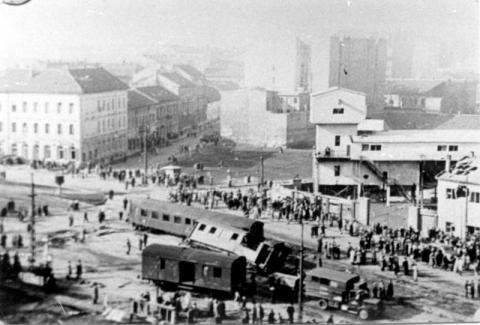 A Széna tér 1956-ban