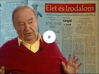 Faragó Vilmos az Élet és Irodalom hetilapról