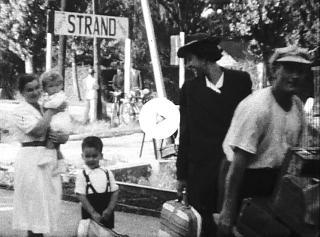 Amatőr film Vígh Szabolcs és testvéreinek gyermekkoráról