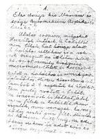 Tihanyi Árpád búcsúlevele, 1. o.