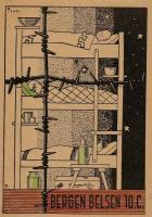 Irsai István grafikája a Bergen Belsen-i táborról, 1940.