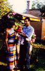 Bálint János és családja