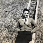 Andorka Rudolf, húga Nadine a kitelepítés idején