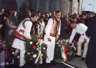 Csángók Domokos Pál Péter temetésén