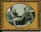 Hegedűs Györgyi férjével Gruber Istvánnal